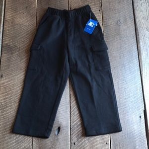 Boy's Size XS Starter Athletic Fleece Cargo Pant